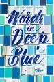 Couverture Le bleu de tes mots Editions Knopf 2017