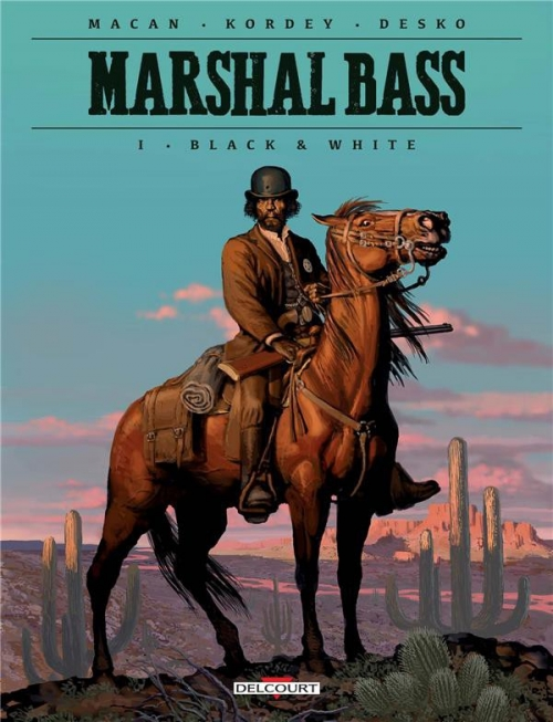 Couverture Marshal Bass, tome 1 : Black & white