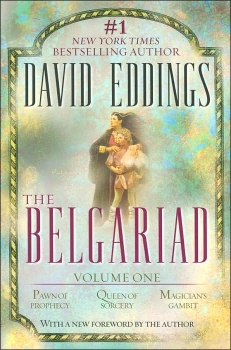 Couverture The Belgariad, book 1 : Pawn of Prophecy, Queen of Sorcery, Magician's Gambit
