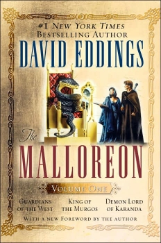 Couverture The Malloreon, book 1 : Guardians of the West, King of Murgos, Demon Lord of Karanda