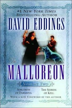 Couverture The Malloreon, book 2 : Sorceress of Darshiva, The Seeress of Kell