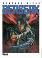 Couverture Berserk, tome 27 Editions Glénat 2008