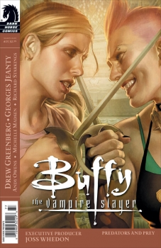 Couverture Buffy The Vampire Slayer, Season 8, book 23 : Predators and Prey