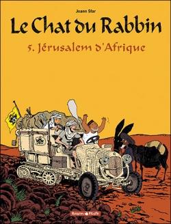 Couverture Le Chat du Rabbin, tome 5 : Jérusalem d'Afrique
