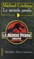 Couverture Le monde perdu Editions Pocket 1998