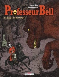 Couverture Professeur Bell, tome 3 : Le cargo du Roi singe