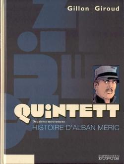 Couverture Quintett, tome 2 : Histoire d'Alban Méric
