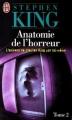 Couverture Anatomie de l'horreur, tome 2 : Pages noires Editions J'ai Lu 1997
