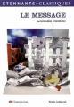 Couverture Le message Editions Flammarion (GF - Etonnants classiques) 2007