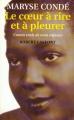 Couverture Le coeur à rire et à pleurer Editions Robert Laffont 1999