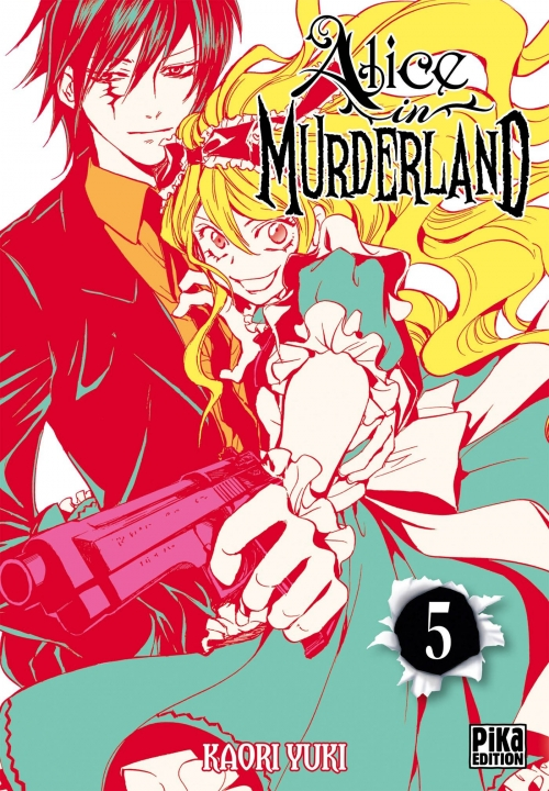 Couverture Alice in murderland, tome 05