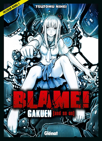 Couverture Blame! Gakuen (and so on)
