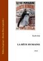 Couverture La Bête humaine Editions Ebooks libres et gratuits 2004