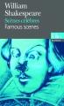 Couverture Scènes célèbres Editions Folio  (Bilingue) 2008