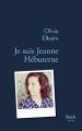 Couverture Je suis Jeanne Hébuterne Editions Stock 2017
