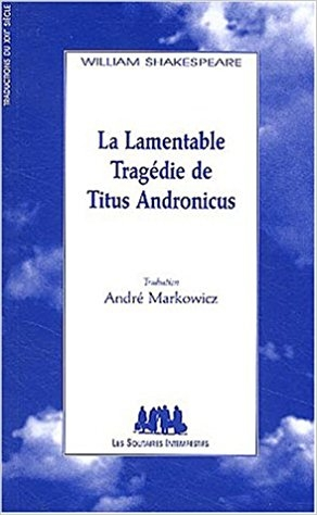 Couverture Titus Andronicus