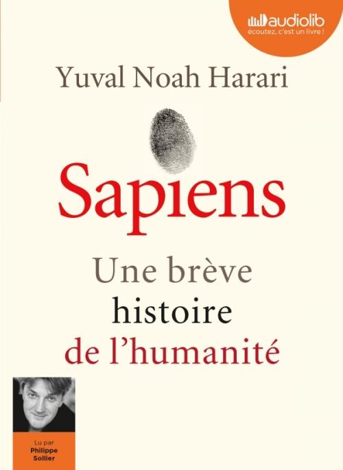 Couverture Sapiens : Une brève histoire de l'humanité