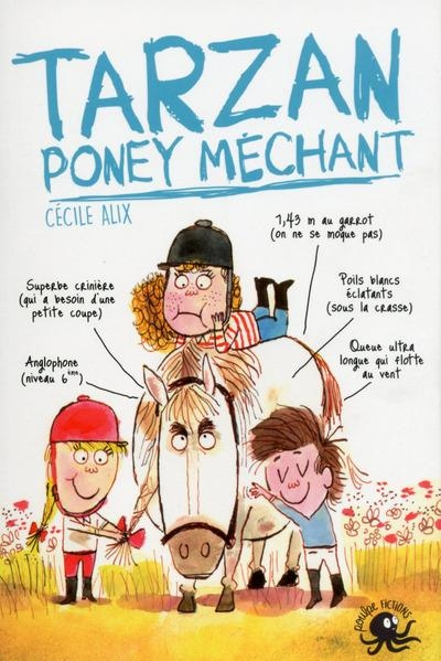 Couverture Tarzan : Poney méchant