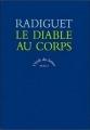 Couverture Le diable au corps Editions Seuil (L'école des lettres) 1997