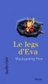 Couverture Le legs d'Eva Editions David 2017