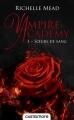 Couverture Vampire Academy, tome 1 : Soeurs de Sang Editions Castelmore 2016