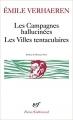 Couverture Les campagnes hallucinées, Les villes tentaculaires Editions Gallimard  (Poésie) 1982
