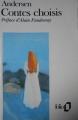 Couverture Contes choisis Editions Folio  1990