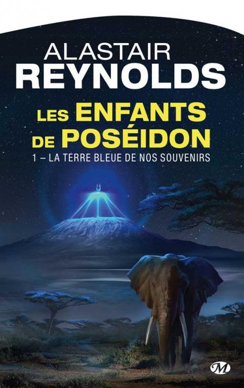 Couverture Les Enfants du Poséidon, tome 1 : La Terre bleue de nos souvenirs