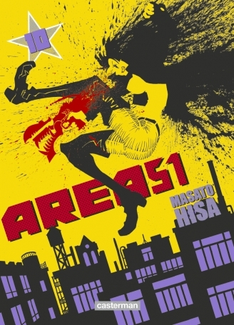 Couverture Area 51, tome 10