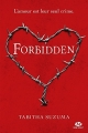 Couverture Forbidden Editions Milady (New Adult) 2017