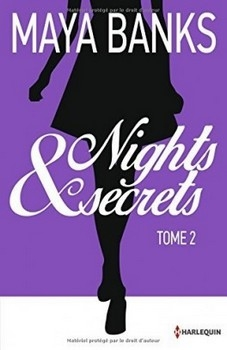 Couverture Nights & secrets, double, tome 2 : Ashley & Pippa