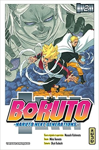Couverture Boruto : Naruto next generations, tome 2