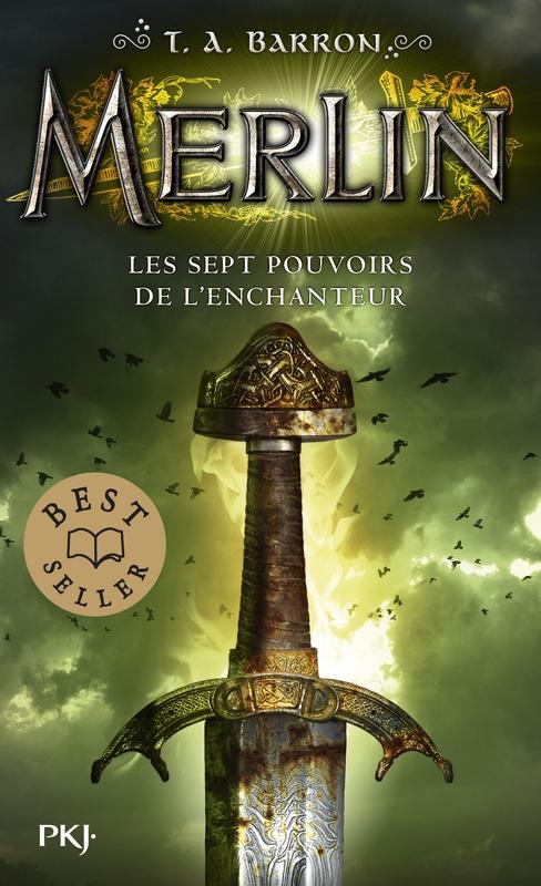 Couverture Merlin, cycle 1, tome 2 : Les sept pouvoirs de l'enchanteur