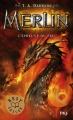 Couverture Merlin, cycle 1, tome 3 : L'épreuve du feu Editions Pocket (Jeunesse) 2017