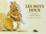 Couverture Les mots doux Editions L'école des loisirs 2013