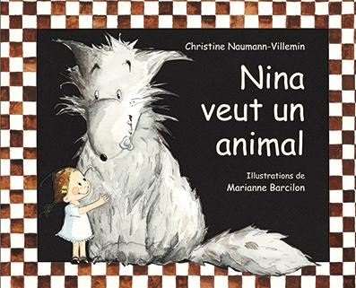 Couverture Nina veut un animal