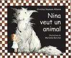 Couverture Nina veut un animal Editions L'École des loisirs (Lutin poche) 2013