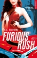 Couverture Furious rush, tome 1 Editions Hugo & cie (New romance) 2017