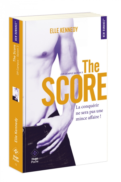 Couverture Off-campus, tome 3 : The score