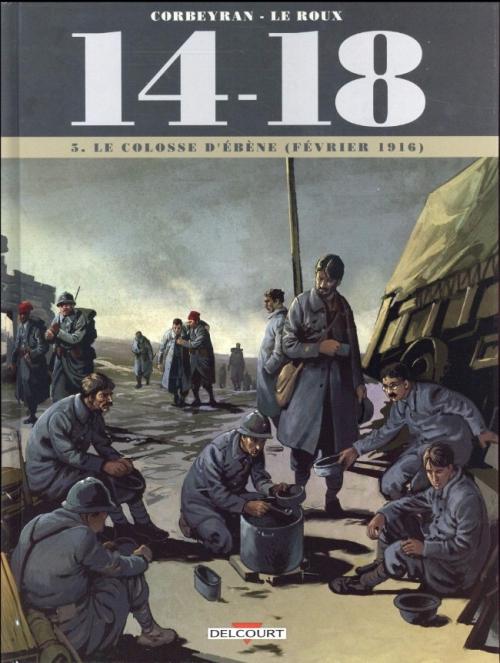 Couverture 14-18, tome 05 : Le colosse d'ébène (février 1916)