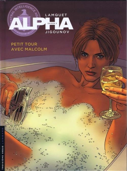 Couverture Alpha, tome 12 : Petit tour avec Malcolm