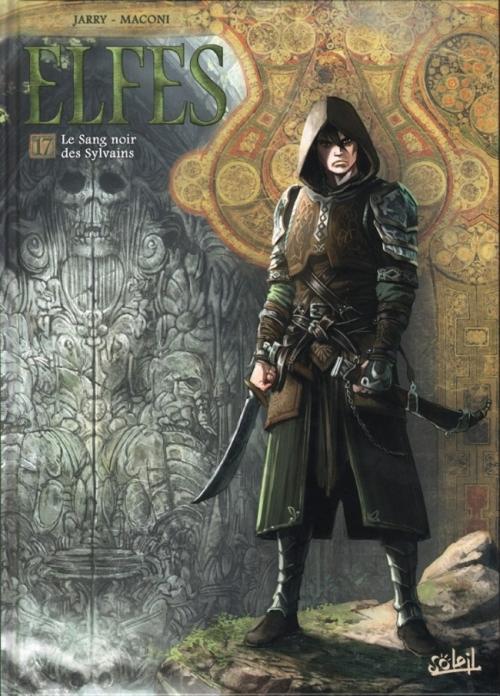 Couverture Elfes, tome 17 : Le sang noir des Sylvains