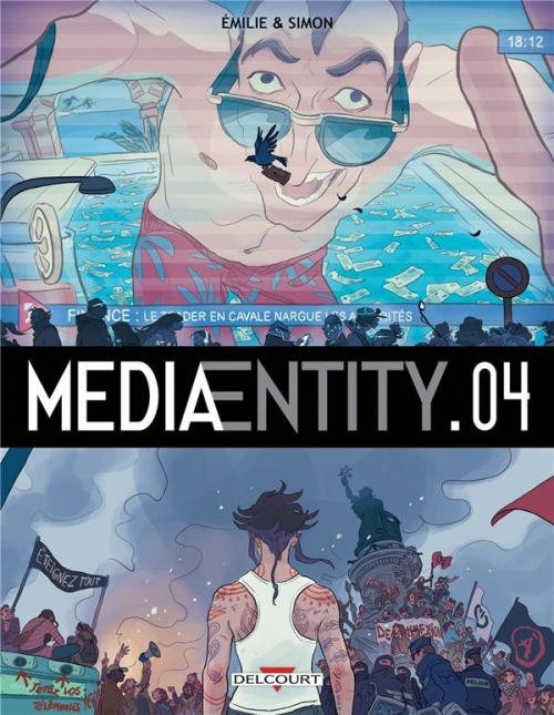 Couverture MediaEntity, tome 4