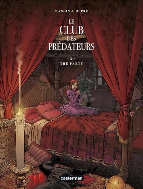 Couverture Le club des prédateurs, tome 2 : The party