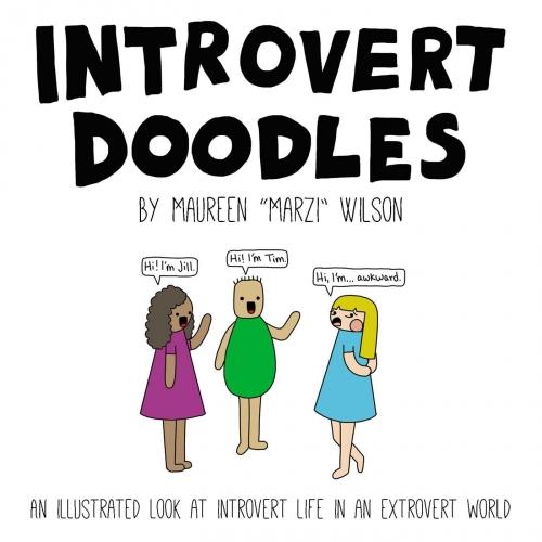 Couverture Introvert Doodles