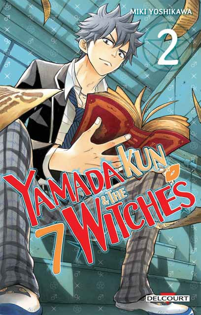 Couverture Yamada Kun & the 7 witches, tome 02