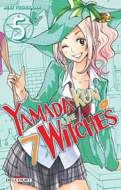 Couverture Yamada Kun & the 7 witches, tome 05