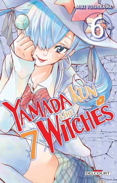 Couverture Yamada Kun & the 7 witches, tome 06