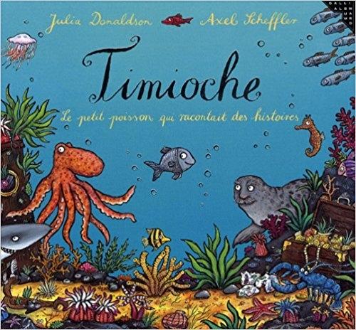 Couverture Timioche : Le petit poisson qui racontait des histoires