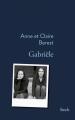 Couverture Gabriële Editions Stock (La Bleue) 2017